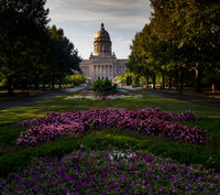 The Kentucky State Capitol Frankfort house of the three branches state government of the Commonwealth of Kentucky