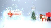 Splintered Ice Coupon Christmas Tree Snow Ball