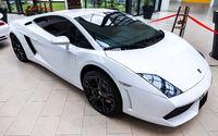 Lamborghini is famous expensive automobile brand car