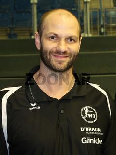 Cheftrainer Heiko Grimm, MT Melsungen, Liqui Moly HBL, Handball-Bundesliga Saison 2019-20