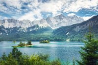 Eibsee Zugspitze