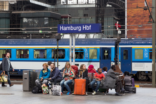 Central Station in Hamburg, Germany