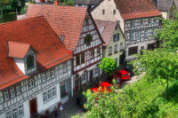 Half-timbered houses in Bad Wimpfen