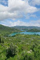 Bacina Lakes,Makarska Riviera,Adriatic Sea,Dalmatia,Croatia