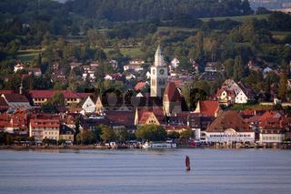 Blick über den Bodensee nach Überlingen