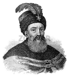 Gabriel Bethlen de Iktár, 1580 - 1629, King of Hungary