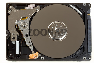 uncovered 2,5 inch notebook hard drive