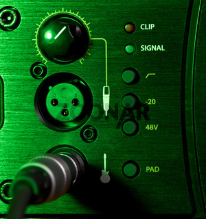 Amplifier Control Panel