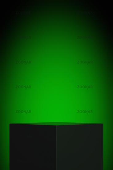 display green light background