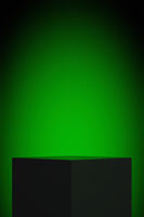 display green light background