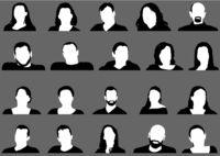Avatar Profile Picture Icon Set