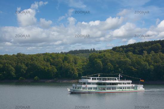 Biggesee Reservoir in Sauerland,North Rhine westphalia,Germany