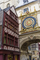 Famous old watches Gros-Horloge.