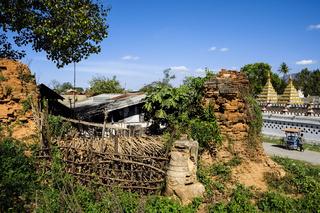 Verfallene Stupas in Nyaung Shwe am Inle-See, Myanmar