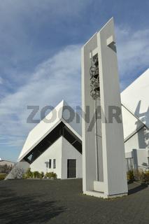 Kirche von Seltjarnarnes, Reykjavik, Island
