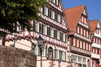 typical houses in Calw Germany