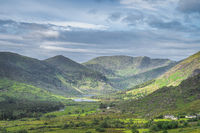 Vast and majestic Black Valley in Ring of Kerry