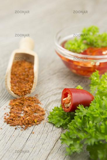 chili pepper, Capsicum annuum