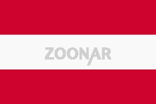 Austria flag background illustration red white stripes