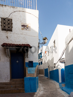 Rabat old town or medina Morocco