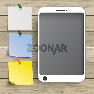 Wood Background Smartphone Stickers