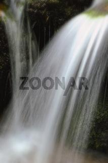 Wasser weich im Wasserfall