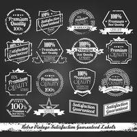 Premium Quality - Satisfaction Guarantee Label