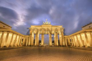 Brandenberg Gate at dusk