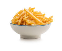 French fries. Fried mini potato sticks in bowl.