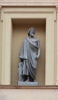 Sculpture Smilis legendary Greek sculptor