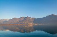 Wonderful Iseo lake panorama