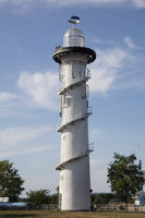 Lighthouse at the Danube Island, Vienna