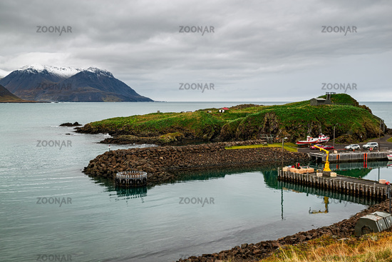 Little harbour in Borgarfjordur Eystri, Iceland