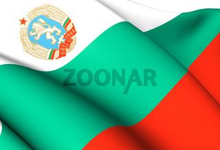 People's Republic of Bulgaria Flag