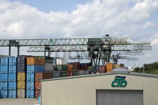 Containerhafen Dortmund, Deutschland
