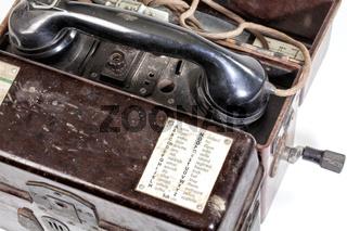 German Phonetic Spelling Code, Field telephone