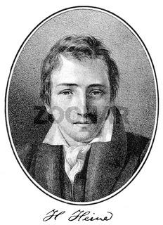 Heinrich Heine, 1797 - 1856, German poet