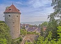 Gallerturm Überlingen on Lake Constance