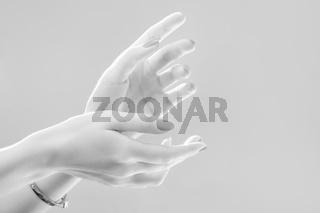 luxury female hands