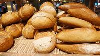 Bread on a shelf