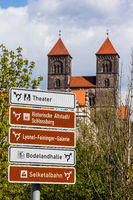Pictures from Quedlinburg in the Harz Mountains World Heritage City