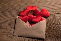 Valentine day love letter