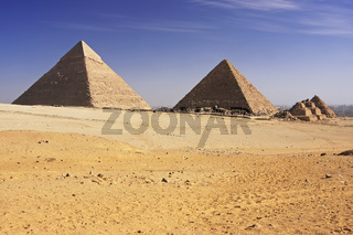 Great Pyramids of Giza, Cairo