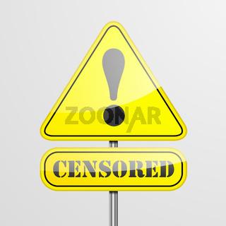 RoadSign Censored