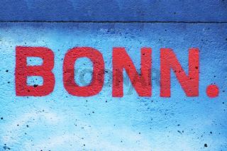BONN - Schriftzug
