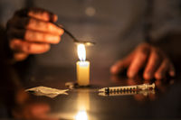 injection, candle and Heroine