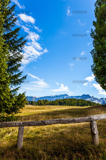 Indian summer in the Dolomites