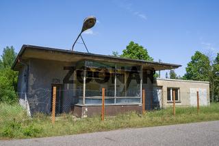 Verfallener Betriebseingang, Spreenhagen