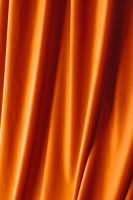 Abstract orange fabric background, velvet textile material for blinds or curtains, fashion texture and home decor backdrop for luxury interior design brand