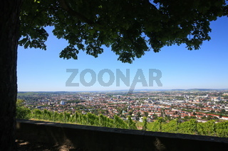 Heilbronn von oben